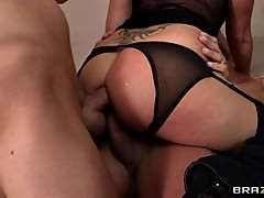 Amazing Tory Lane takes a hard double dicking
