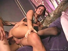 Rampant Tory Lane loves a hard double penetration