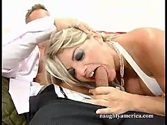 Horny slut Vicky Vette taking a cock all the way up inside her