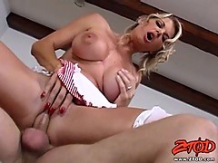 Vicky Vette loves bouncing up and down on a hard thick cock