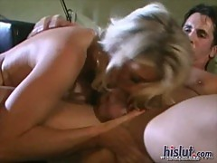 Vicky Vette sure can suck a cock