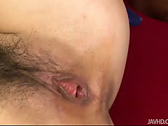 Hitomi Fujihara has her pussy pounded hard