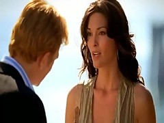 Ana De La Garza Hot Cleavage From CSI Miami