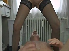 German mature pissing housewife Jacky aka Angie
