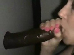 Embarrassed Wife At The Local GloryHole