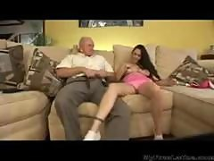 The Grandpa And The Babysitter latina cumshots latin swallow brazilian mexican spanish