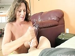Step Mom Handjobs Big Cock