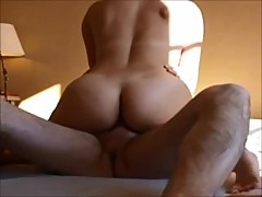 Amateur french wife riding and creampied