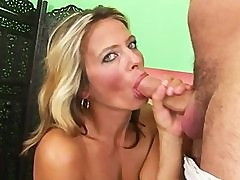 Blonde Cougar Fucks Like A Champ