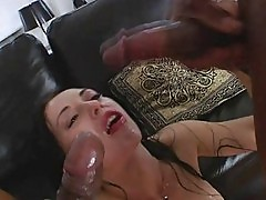 Monster cock double anal action n facial