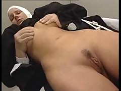 Italian Latina Nun in Uniform Erotic fuck