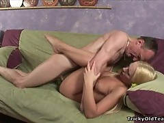 An Amazing Fuck For Anna With An Old Man