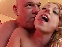 Dirty nasty girl sure loves cock