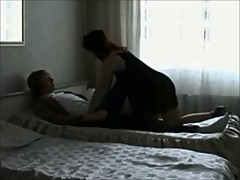 Curvy milf with younger boy