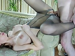 Irene&Rolf uniform pantyhose sex movie