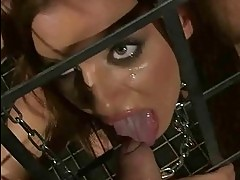 Young slavegirl gets fucked pretty hard