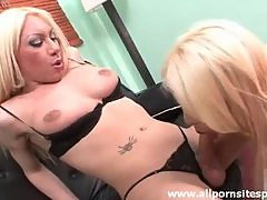 Watch hot oral sex with blonde shemales