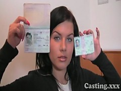 Casting First time facial for student