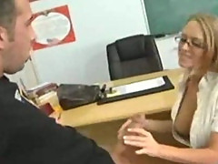 Teacher Seduces her student