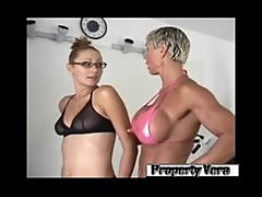 Goddess Heather & Cammie - Strap On Champion Workout