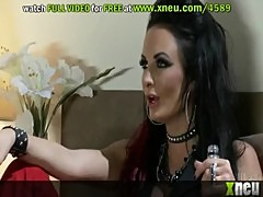 Punk Babes Alektra Blue And Victoria White Swap Hot Cum In A Thresome