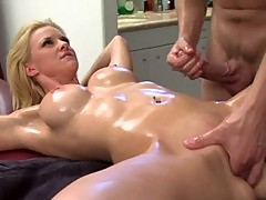 Hannah Harper gets the nastiest massage