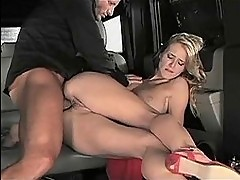 Horny Jane Darling Gets A Back Seat Banging