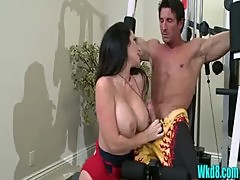 Jayden Jaymes Sucking Dick in Boobwatch - wkd8.com
