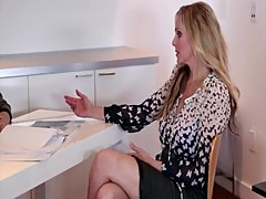Julia Ann & Dana DeArmond are workplace lesbians