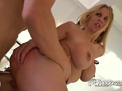 Julia Ann The Hot Blonde Gets Dicked & Cummed On